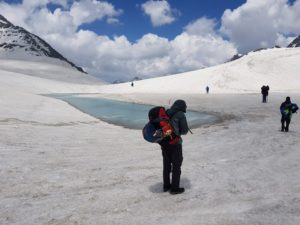 thamsar pass trek difficult level