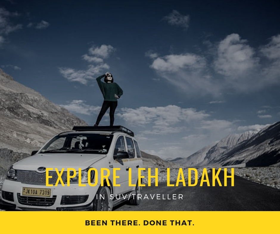 Explore Leh Ladakh in suv