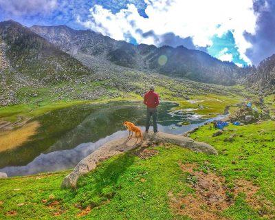 kareri lake trek_dharamshala