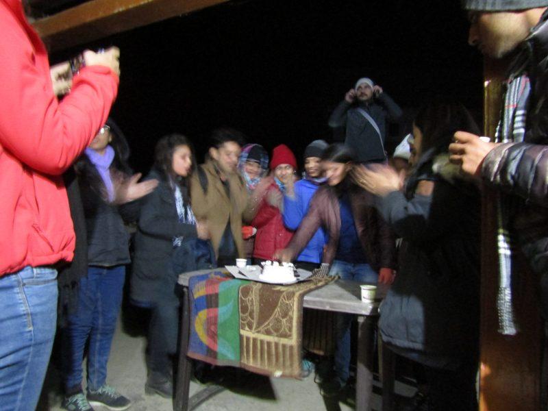 RDH Birthday Celbration during Rajgundha Trek