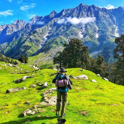 triund trek backpacking